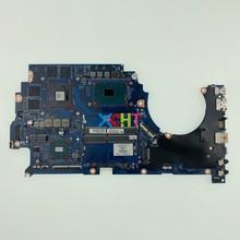 Pour HP Omen 15 15 CE 15T CE000 série 929483 601 929483 001 DAG3AAMBAE0 w GTX1050/4 GB GPU i7 7700 CPU NB ordinateur portable carte mère