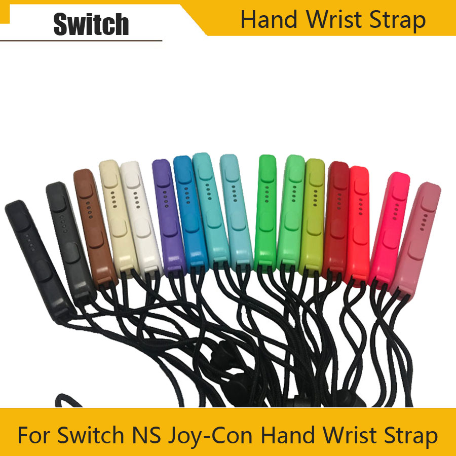 1 Pair Carrying Hand Wrist Strap For Nintendo Switch NS NX Console Portable Joy-Con Lanyard New Video Games Accessories