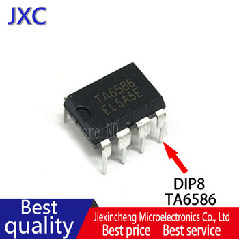 10PCS TA6586 6586 RZ7886 7886 DIP8 motor driver chip IC New original 10pcs opa604ap opa604 dip8 new