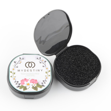 1 Piece Makeup Brushes Cleaner Remover Color Off Make Up Brushes Cleaning Plastic Box Powder Brush Wash Cosmetic Clean Kits color off makeup brush cleaner sponge remover aluminum make up brushes cleaning mat box powder brush washing scrubber clean kit