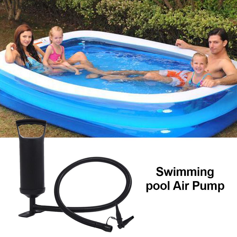 In Stock Air Pump Hand Pump Portable Pool Air Inflator For Swimming Pool Inflatable Rafts Boats And Swimming Rings