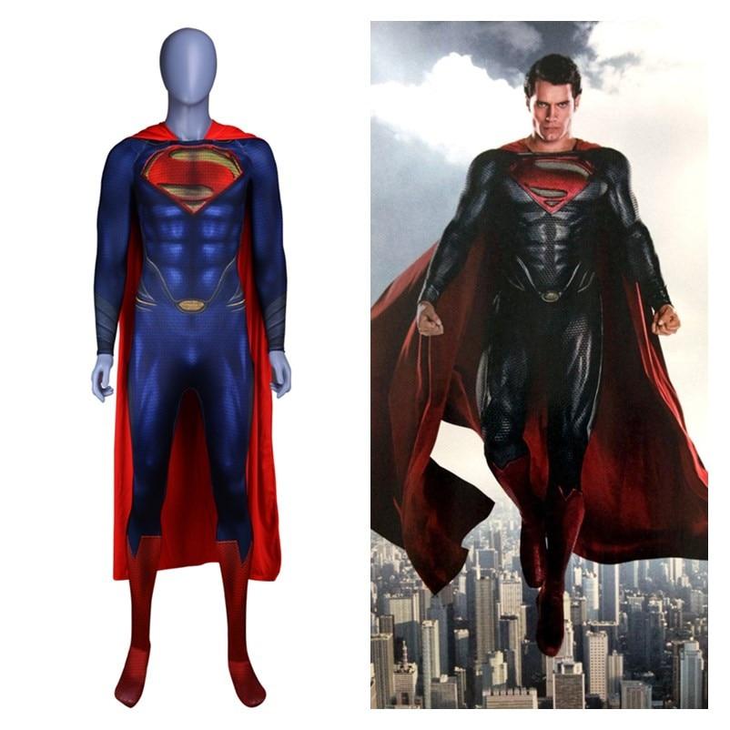 Аниме «Супермен: Человек из стали 2», «Кларк Кент», Маскарадные костюмы «Супермен», «Супермен», «зентай», плащи комбинезоны, боди, костюм