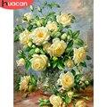 HUACAN алмазная вышивка распродажа цветы алмазные картины мозаика 5д пионы вышивка крестиком декор для дома