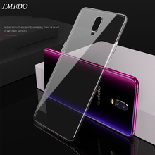 IMIDO Soft TPU Case for OPPO R17 Pro Transparent Silicone Cases R17Pro Phone HD Back Clear Protective Cover