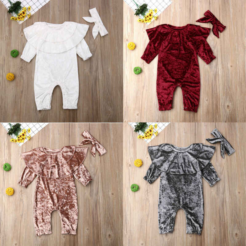 Toddler Baby Boy Girl 2PCS Clothes Romper Jumpsuit Playsuits Pants Outfits Set