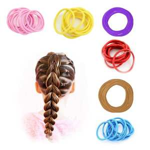 Tie Gum Hair-Accessories Elastic Rubber Girl Women Certified-Products 20pcs/Bag