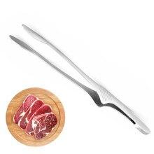 Clipe de churrasco, pinças de cozinha de aço inoxidável do grampo do churrasco para o pão de peixe do bife