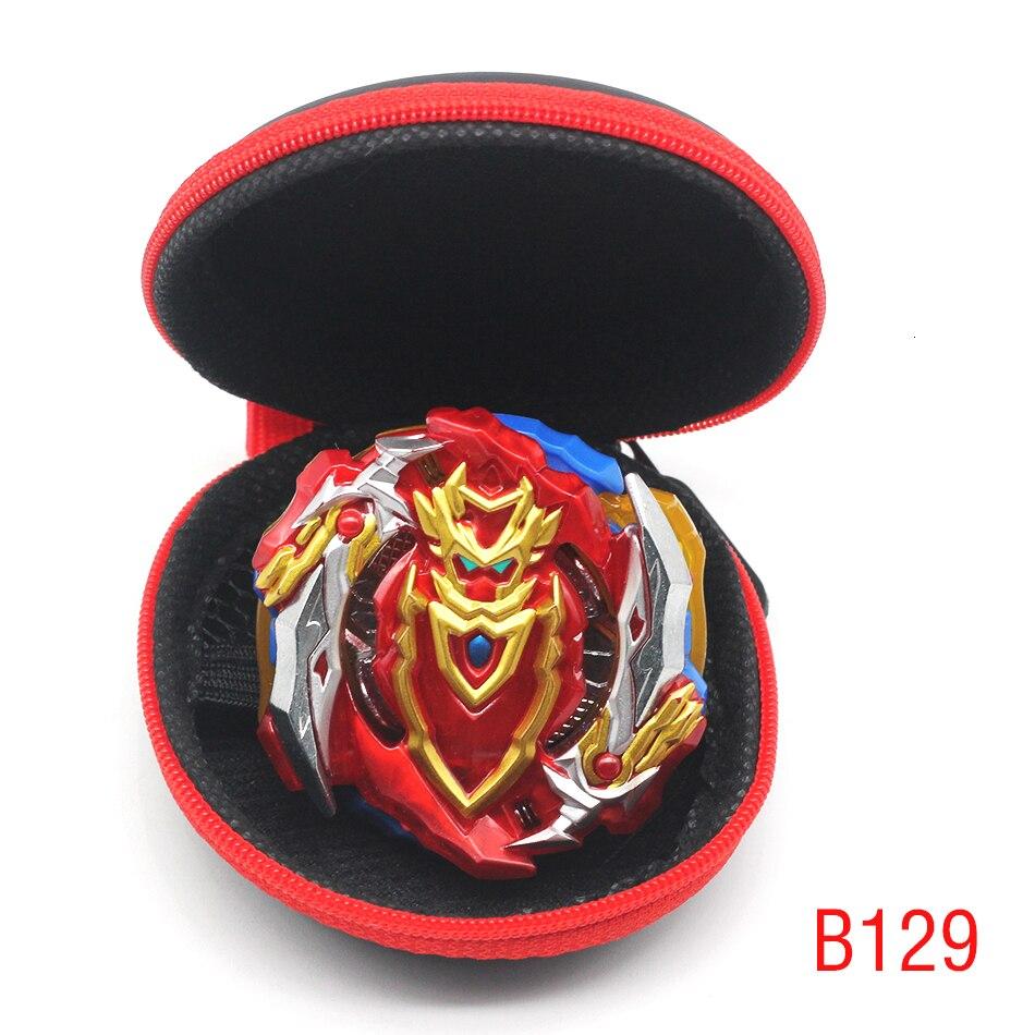 Édition or Beyblade rafale jouet B129 pas de lanceur et boîte Babled métal Fusion rotation haut Bey lame lame enfant garçon jouet cadeau