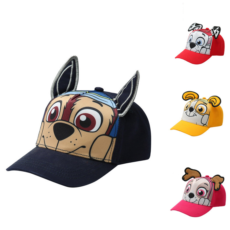 Paw  Patrol toys dog Child Baseball Cap Baby cartoon anime figure dogs kids Sun Hat Boys pat patrouille Toy Birthday Girls Gift