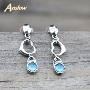 Anslow Design Charms Fashion Jewelry Candy Beads Love Sweet Heart For Women Female Summer Springs Style Free Shipping LOW0009AE