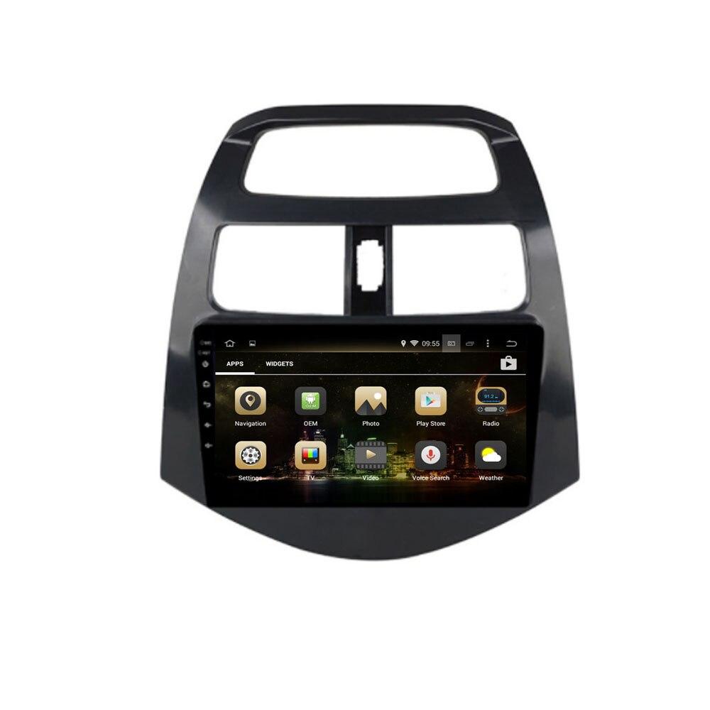 Android 9.0 Octa Core PX5/PX6 Fit Chevrolet Spark/Beat/Matiz 2011-2015 lecteur DVD de voiture Navigation GPS Radio