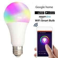 Smart WiFi Alexa Light Bulbs 2.4G, SAUDIO LED RGB Color Chan