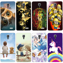 Soft Silicone Case For Lenovo A536 Case Coque For Lenovo A536 A358T A 536 Cover Painted Case Back Covers Fundas Housings