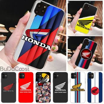 Japanese racing Honda motorcycle Phone Case for iPhone 8 7 6 6S Plus X 5S SE 2020 XR 11 pro XS MAX 12 12Mini image