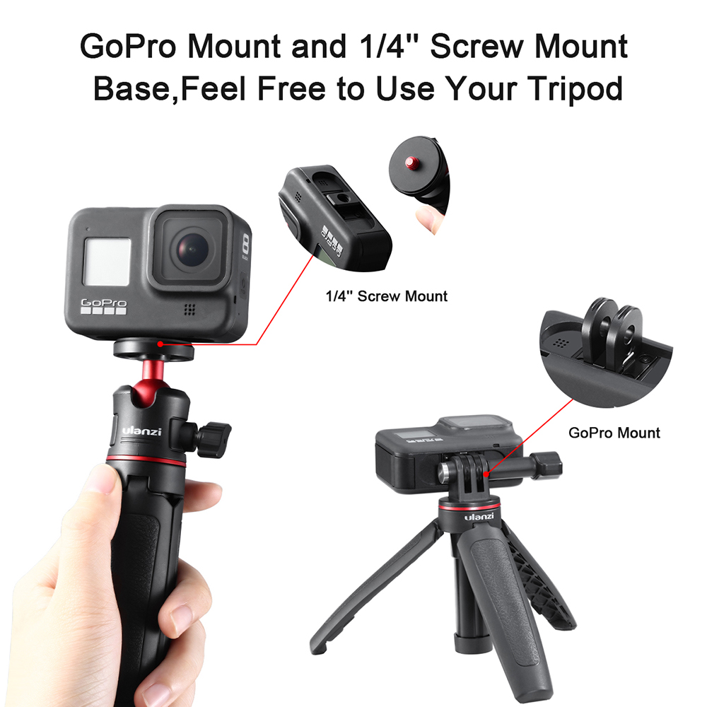 10X PULUZ For GoPro Accessories Camera Tripod Mount Adapter Standard Long S A3K1