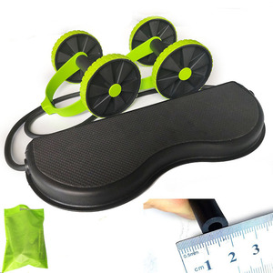 Itstyle Ab Roller Wiel Abdominale Trainer Wiel Arm Taille Been Oefening Multi-Functionele Fitnessapparatuur Oefening(China)