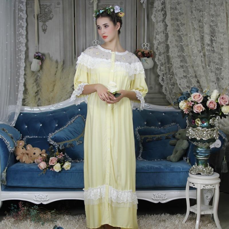 Γυναικείο νυχτικό φόρεμα πολυτελείας μακρύ msow