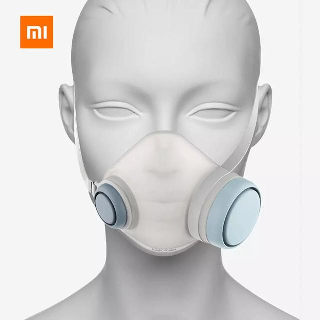 2020 Xiaomi Woobi Play Face Masks Filter Respirator Mask PM2.5 Anti-Dust Pollution Mouth Cover Breath Valve For Adult Kids 2