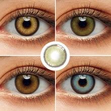Lentilles de Contact colorées/lentilles de cercle 2 pièces/paire lentilles de Contact bleues pour les yeux couleur des lentilles de Contact couleur des lentilles de Contact yeux