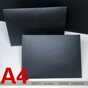 Image 3 - 20 unids/lote A4 sobres occidentales papel de perlas #9 sobres de colores para documentos, archivos, almacenamiento de fotos Drop Shipping