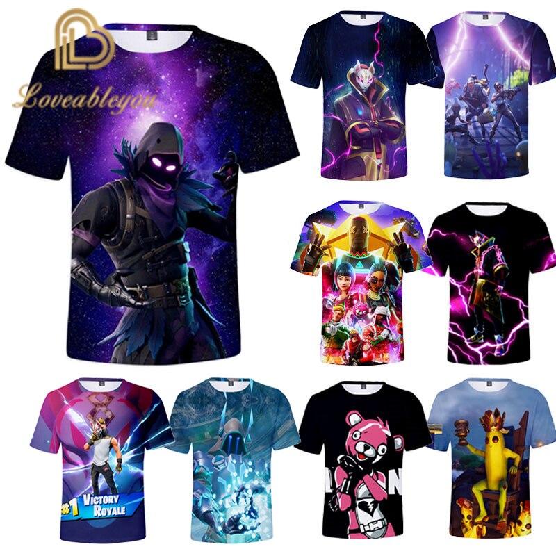 Men T-shirt Children 110-160 3d Printed T Shirt Homme Unisex Casual Short Shirt Cosplay Tshirt Gaming Boy Funny T Shirts