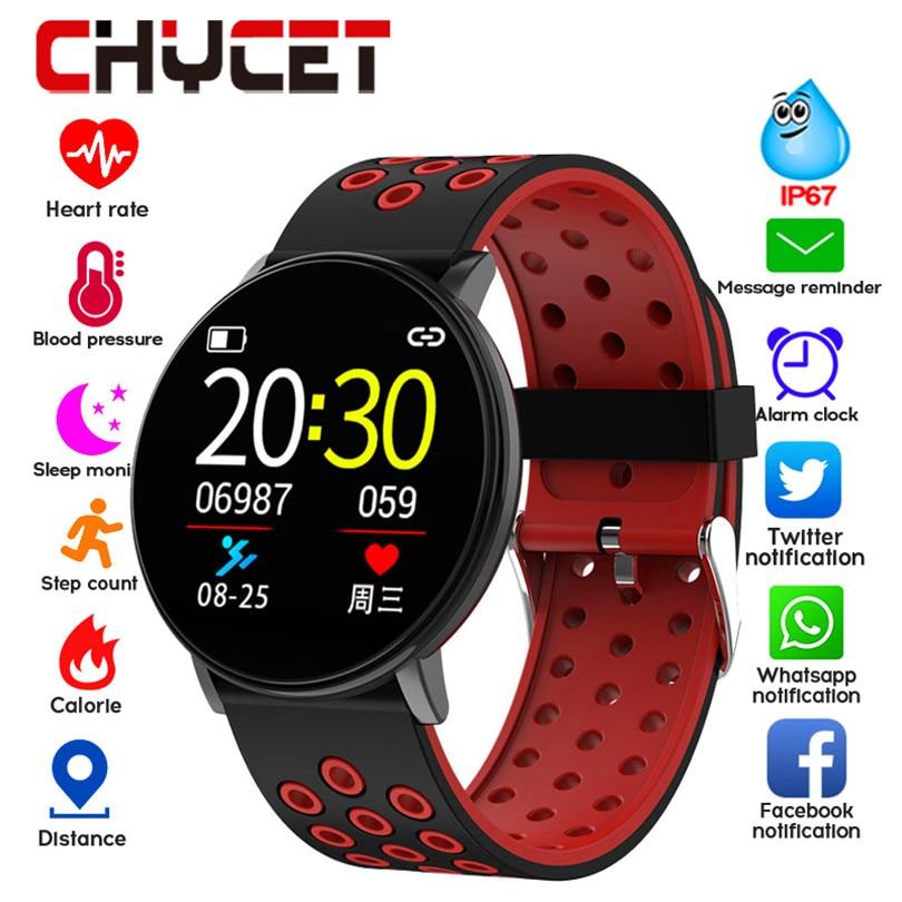 Smart Fitness Bracelet Blood Pressure Measurement Fitness Tracker Waterproof IP67 Smart Band Watch Heart Rate Monitor Innrech Market.com