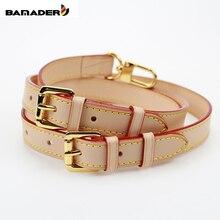 BAMADER 브랜드 고품질 정품 가죽 가방 스트랩 길이 107CM 119CM 럭셔리 조절 어깨 스트랩 여성 가방 Accessorie