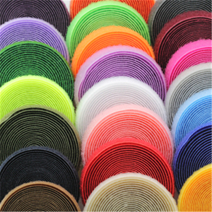 25mm 2meters pair colorful velcros adhesive sticker hook and loop fastener color tape cable ties sewing accessories