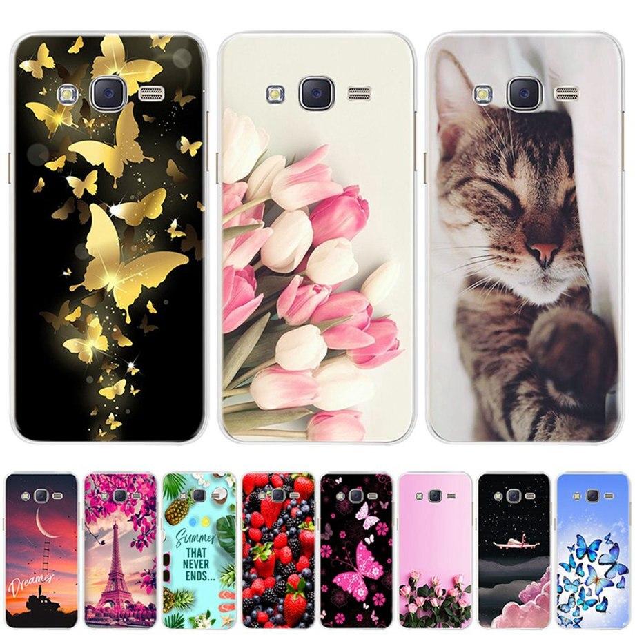 For Samsung Galaxy J5 2015 Case Cover Samsung J5 2016 Soft Silicone Cases For Fundas Samsung Galaxy J5 2015 2016 2017 Phone Case