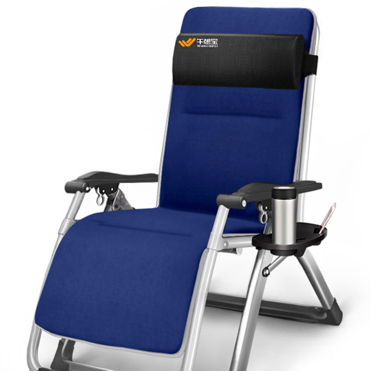 Chair Folding Afternoon Rest Office Folding Chair Afternoon Bed Simple Single Bed Nap Chair Afternoon Rest Chai