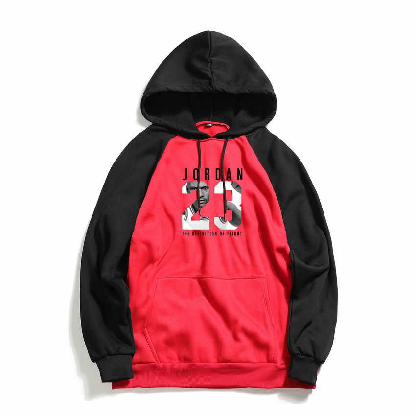 2019 Marka JORDAN 23 Baskı Erkekler Hoodies Moda Erkek Hip Hop Tişörtü Erkekler Spor Hoodie Erkek Kapüşonlu Eşofman Giyim
