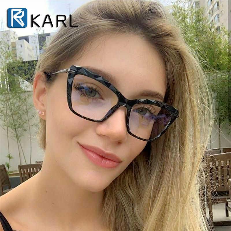 Kadın çerçeve gözlük optik gözlük çerçeve kadınlar kedi göz gözlük moda gözlük çerçeve gözlük optik bilgisayar gözlük aksesuarları