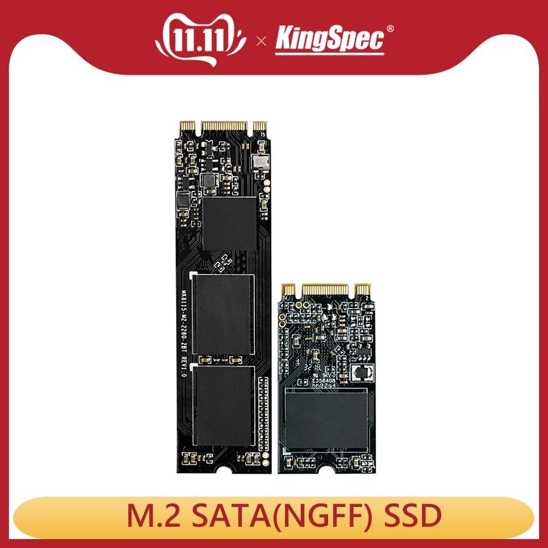 Kingspec m2 ssd 120 go m.2 SATA SSD 240 go 500 go ssd de 1 to hdd de 2 to Disque ssd hd Disque Dur Pour ordinateur portable Acer/hp/Asus