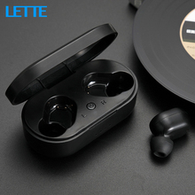 M1 Wireless Bluetooth v5 Earbuds Real Wireless Earphones with Mic HD Call Portab