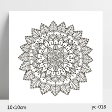 Leaf pattern Transparent Silicone Stamps/Seal for DIY Scrapbooking/Photo Album Decorative Card Making Clear Stamps Supplies