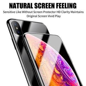 Image 2 - Przednia + tylna folia ochronna na cały ekran folia TPU na iPhone XR XS Max X 8 7 6 6s Plus folia hydrożelowa na iPhone 12 11 Pro Max mini Film