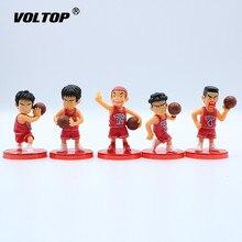 5 pièces/ensemble Basketball personnage de bande dessinée ornement de voiture décoration accessoires de voiture ornement intérieur pendentif suspendu pour les filles