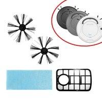Apropriado para bowai robô aspirador de pó peças de reposição escova extra/mop/caixa poeira acessórios conjunto|Vassouras e pás| |  -