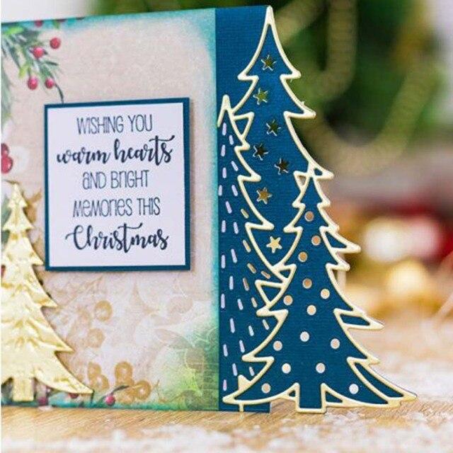 Christmas Lace Metal Cutting Dies Stencils Card Photo Album Handcrafts DIY Decor