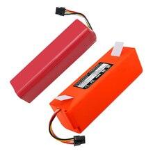 Bateria 18650 para aspirador xiaomi roborock, modelos s50 s51 t4 t6 mi robot, acessórios para aspirador, 1 peça