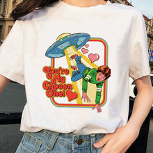 Harajuku T Shirt Satanism Halloween T- Shirt Women vogue t shirts graphic tees female t-shirt camiseta mujer streetwear Tshirt