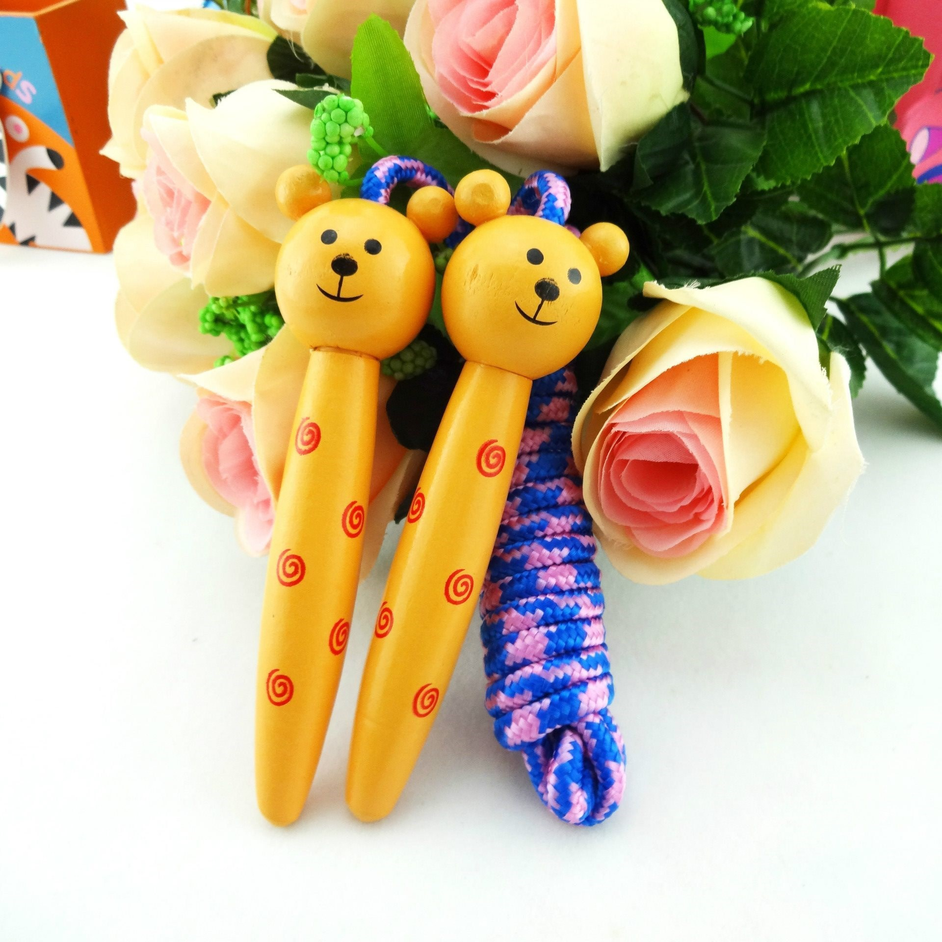 Children Jump Rope Young STUDENT'S Jump Rope Girls CHILDREN'S Female Baby Toy 3-4-5-6-7-8-9-Year-Old