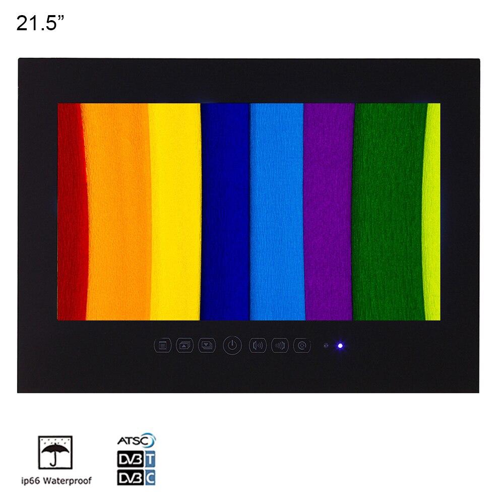 Souria 21.5 polegada banheiro impermeável hotel luxo 1080p led tv vídeos entretenimento aparelho