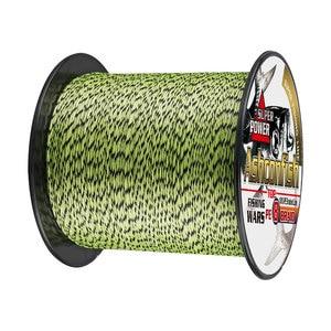Image 5 - Качественные Рыболовные снасти, онлайн плетеная рыболовная леска, 8 нитей, 500 м, 1000 м, полиэтиленовый шнур для подледной рыбалки, 8 300 фунтов