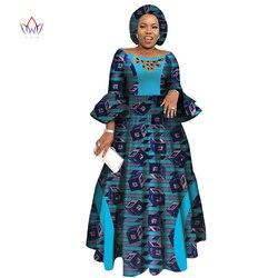 Abiti a Manica Lunga per Le Donne Del Partito di Cerimonia Nuziale Casual Data Dashiki Africano Vestiti Dalle Donne 2019 Abiti Africani per Le Donne WY3819