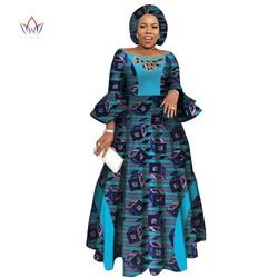Vestidos de manga larga para mujer vestidos de fiesta de boda Casual Dashiki para mujeres africanas 2019 vestidos africanos para mujeres