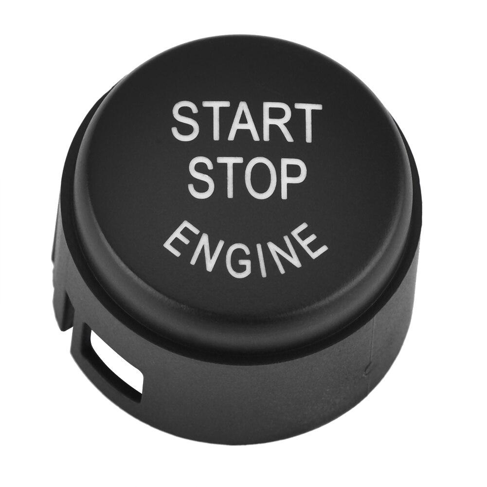 1 pçs marca novo aftermarket substituição do motor um botão start stop botão interruptor capa para bmw série 5 7 61319153832