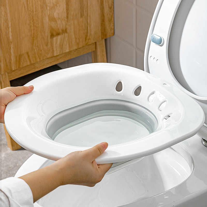 Składana wanna dla kobiet Bidet Sauna Hip irygator krocza w ciąży wanna do kąpieli do prysznica, łazienki umywalka trądzik wc