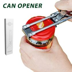 Portable Adjustable Openers Manual Stainless Steel Jar Lid Opener Gripper Can Opener Kitchen Dining Bar Accessories Dropship