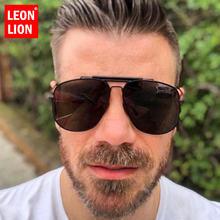 Мужские Поляризованные солнечные очки leonlion ретро винтажные